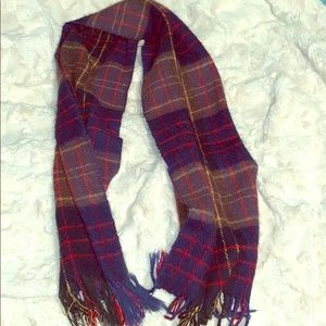 Blue Red Yellow Scarf